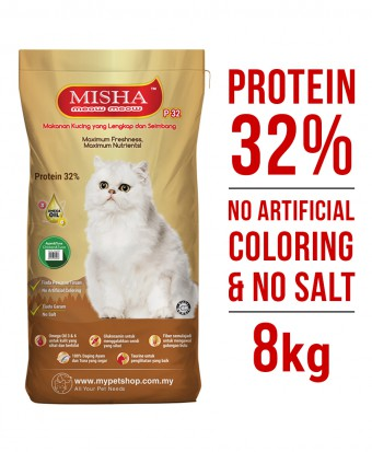 Misha Dry Cat Food Chicken & Tuna 8KG